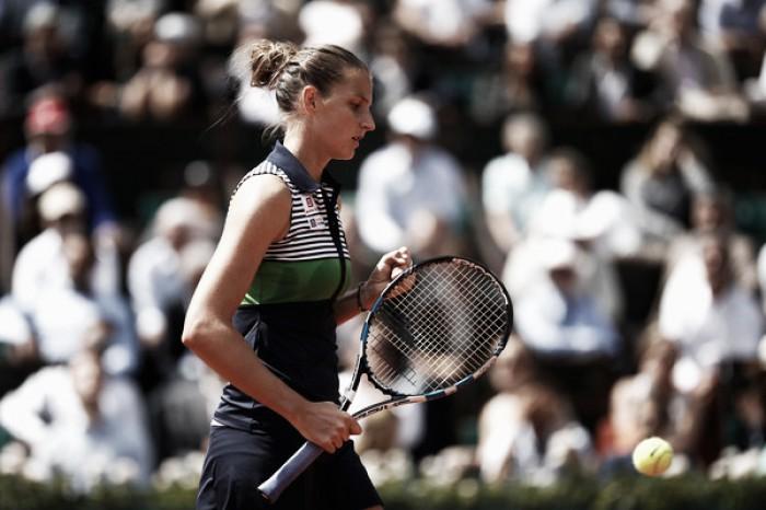 French Open: Karolina Pliskova edges past Garcia to reach her debut semifinal appearance in Paris