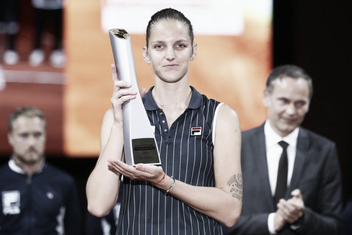 WTA Stuttgart: Karolina Pliskova ousts Coco Vandeweghe in tight match, clinches 10th career title