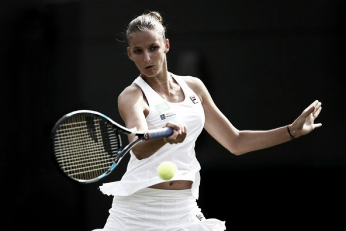 Wimbledon: Karolina Pliskova begins quest for top spot with an excellent victory