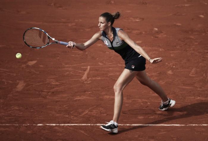 French Open: Karolina Pliskova gets past Zheng Saisai