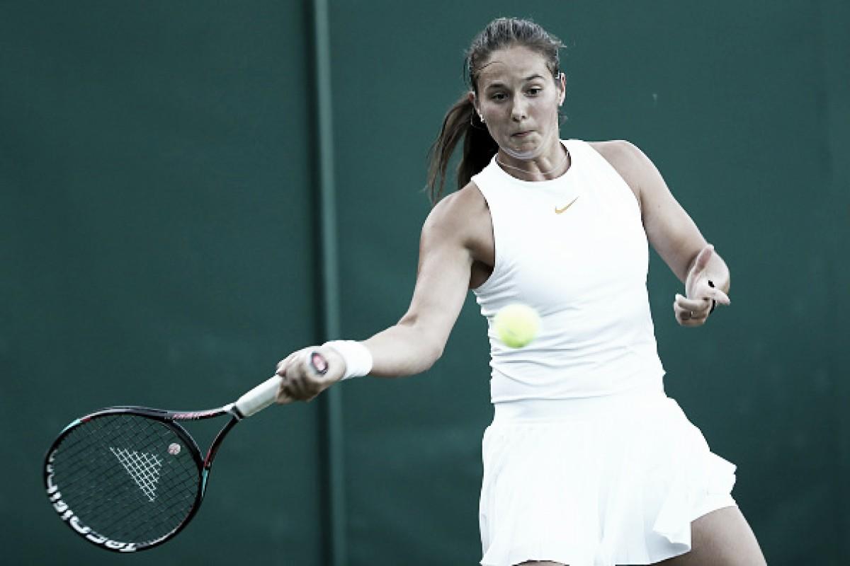 Kasatkina faz estreia convincente contra Fett e avança em Wimbledon