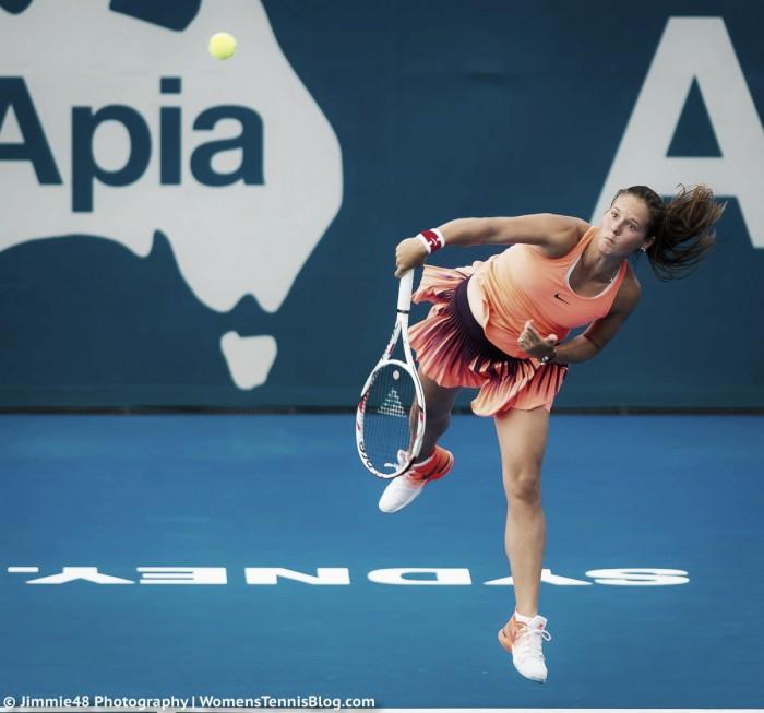 WTA Sydney: Daria Kasatkina progresses in 3 sets against Timea Babos