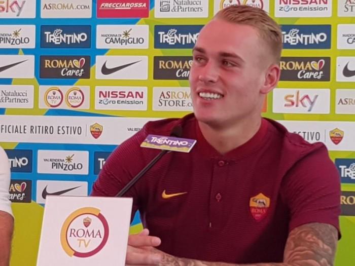 """Roma, Karsdorp si presenta: """"Sarò a disposizione fra un mese circa, voglio diventare grande qui"""""""