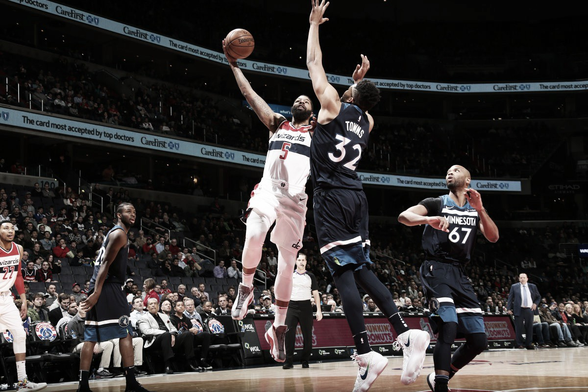 NBA, successi esterni di Pacers e Timberwolves a Philadelphia e Washington