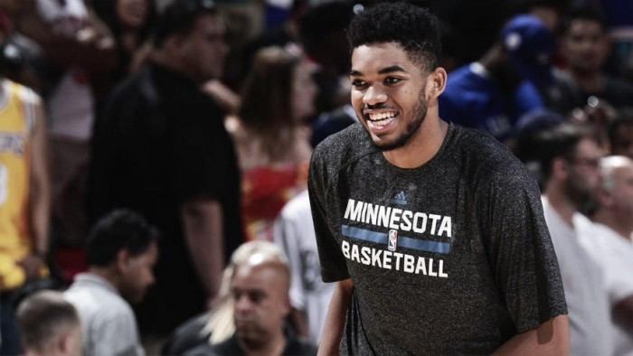 Karl-Anthony Towns, Joel Embiid, and Nikola Jokic headline Rising Stars Challenge