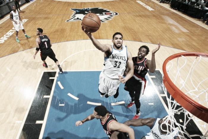 NBA, Minnesota ferma la corsa dei Blazers (110-109)