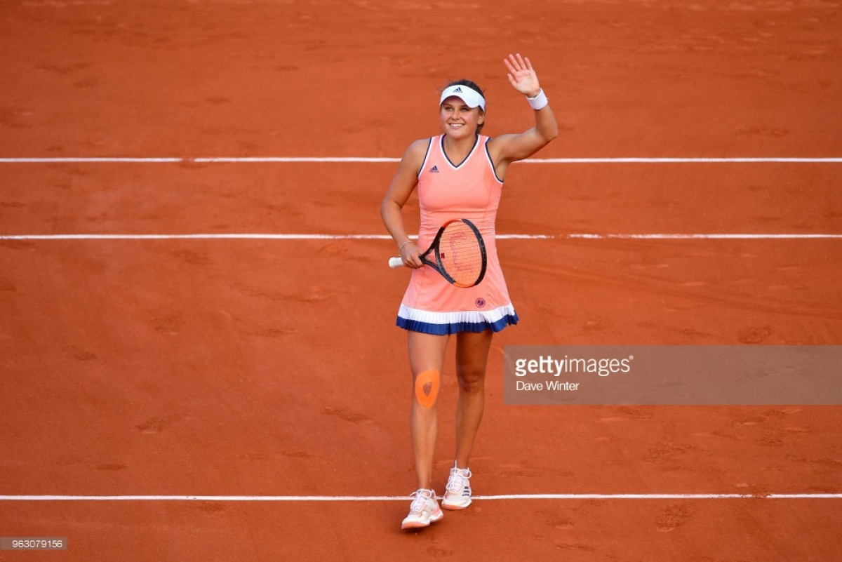2018 French Open: Kateryna Kozlova shocks Jelena Ostapenko in straight sets