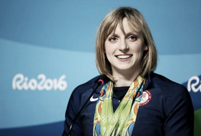 Katie Ledecky sigue destrozando récords