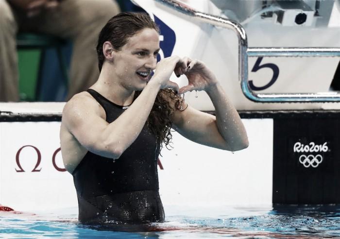 Katinka Hosszú leva mais um ouro na terceira noite da natação; Brasileiros decepcionam