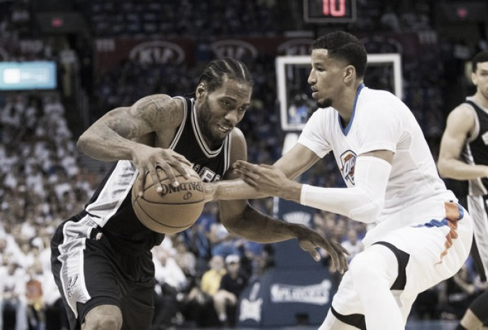 Nba playoffs, gli Spurs rimettono la testa avanti a Oklahoma City (96-100)