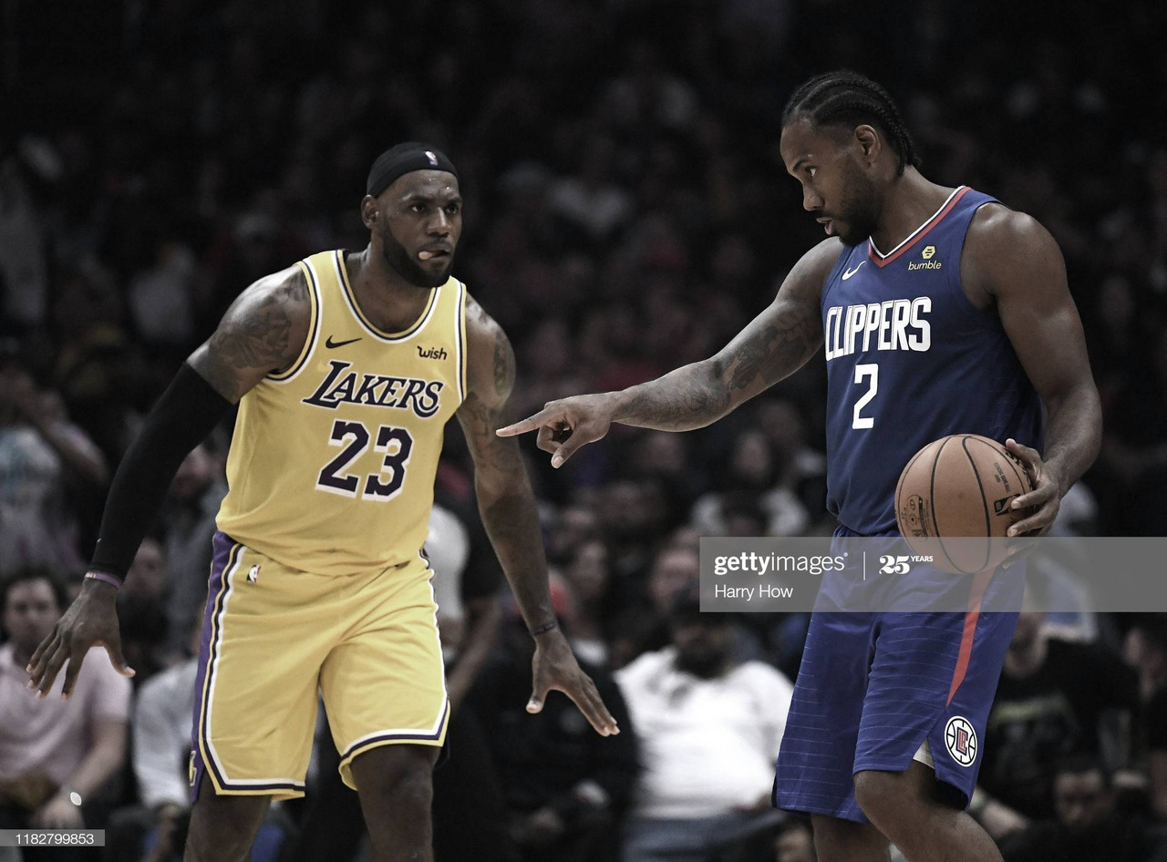 Lakers y Clippers: el duelo de la temporada