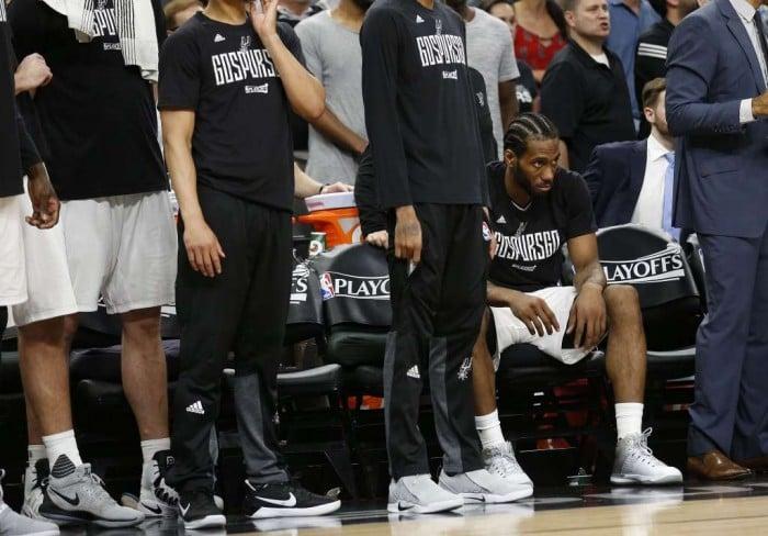 NBA Playoffs - Kawhi Leonard fa tremare i San Antonio Spurs