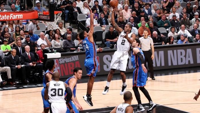 NBA - San Antonio resiste ai Thunder: decidono Parker e Leonard. Clippers facile su Memphis