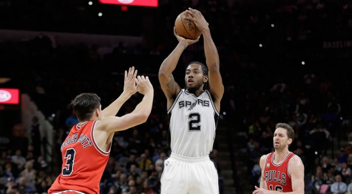 Chicago Bulls Fall On The Road To The San Antonio Spurs