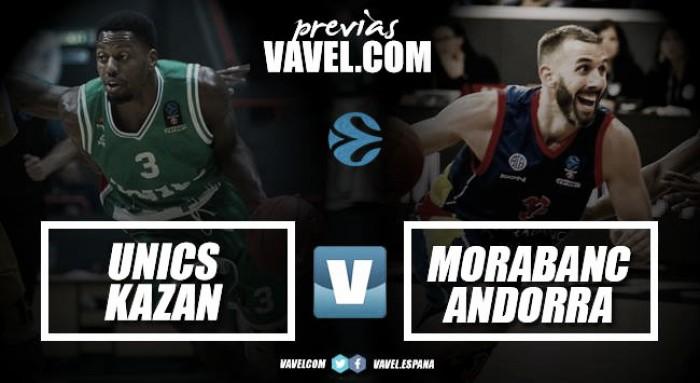 Previa Unics Kazan-Morabanc Andorra: toca remar