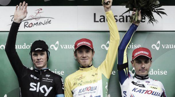 Giro di Romandia: cronometro finale a Martin, classifica a Zakarin