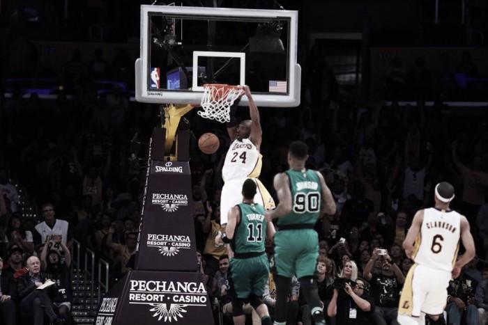 Resumen NBA: Lillard y Curry traen el 'show' yBoston se lleva el último derbi de Kobe Bryant
