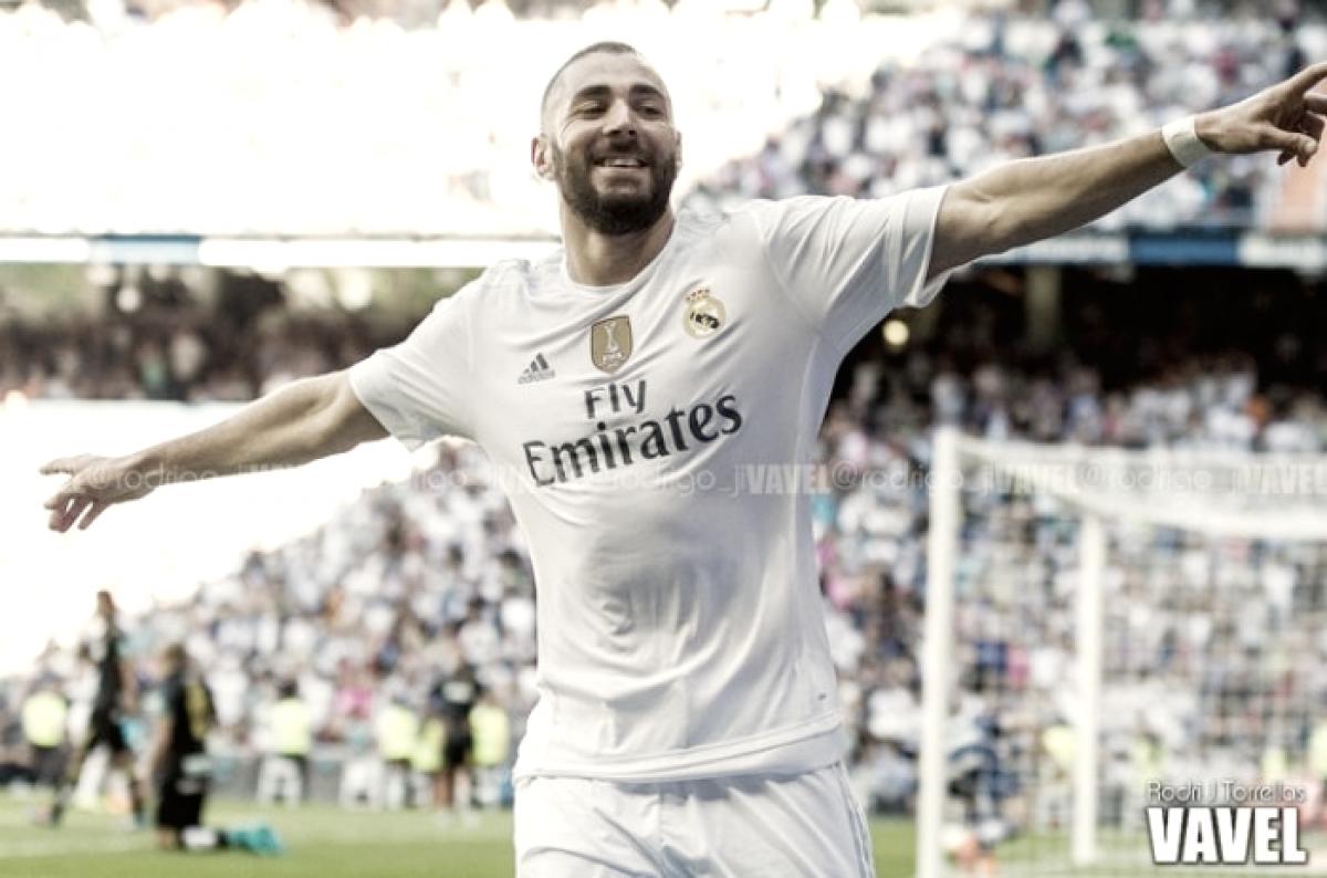 Benzema es ya uno de los máximos goleadores en la historia de la Champions