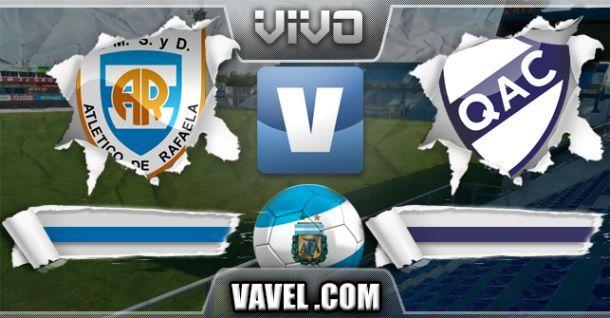 Resultado Atlético Rafaela - Quilmes (2-2)