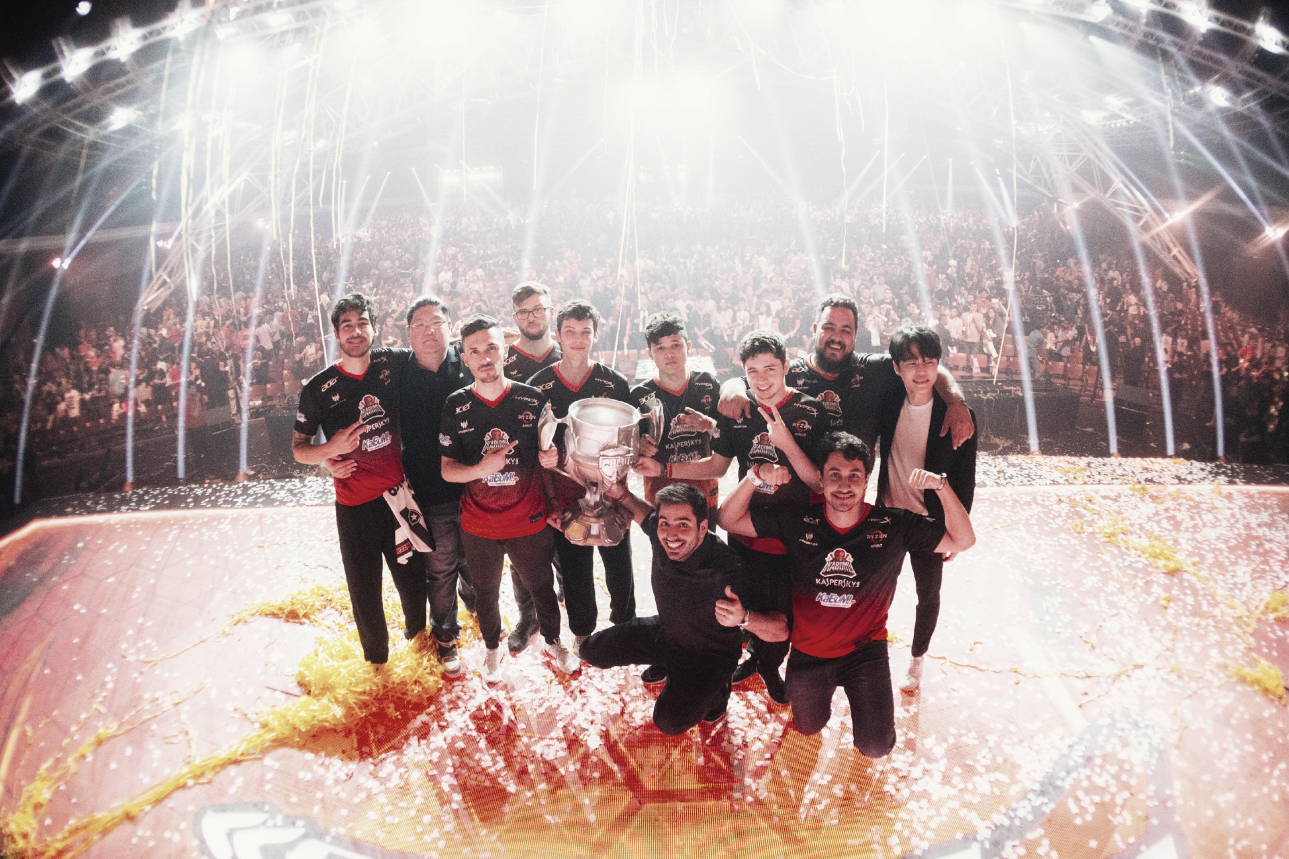 Em série disputada, KaBuM leva a melhor sobre o Flamengo e conquista o CBLoL