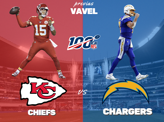 Previa Kansas City Chiefs - Los Ángeles Chargers: partido vibrante en tierras aztecas