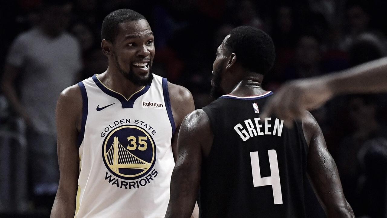 Clippers no le aguantan el ritmo a los Warriors