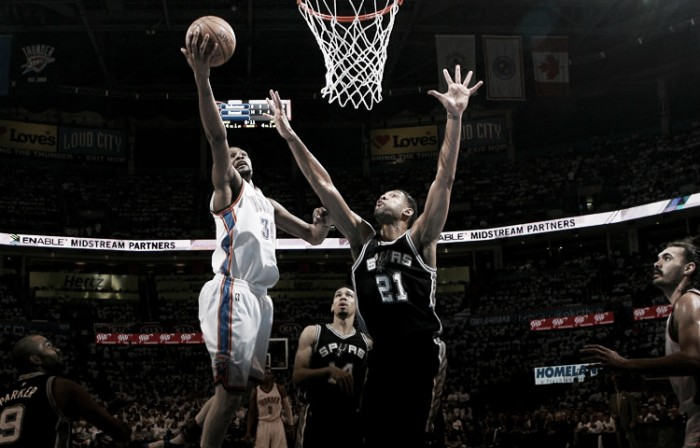 Nba playoffs, Durant stende gli Spurs e pareggia ancora la serie (111-97)