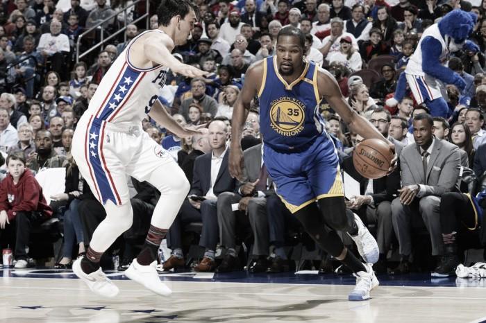 NBA, Warriors ok a Philadelphia. Colpo Hawks a Boston
