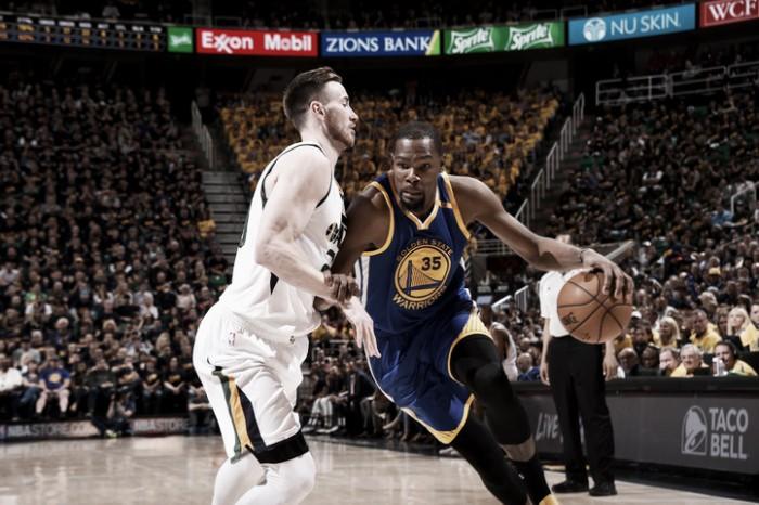 NBA playoffs, Durant spegne il fuoco di Utah in gara-3 (91-102)