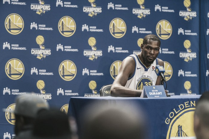 NBA, il Media Day dei Golden State Warriors