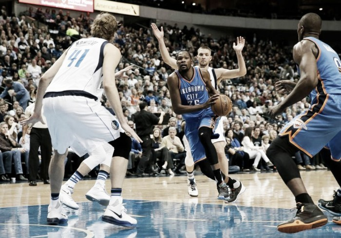 2016 NBA Playoffs: Oklahoma City Thunder - Dallas Mavericks Game One preview