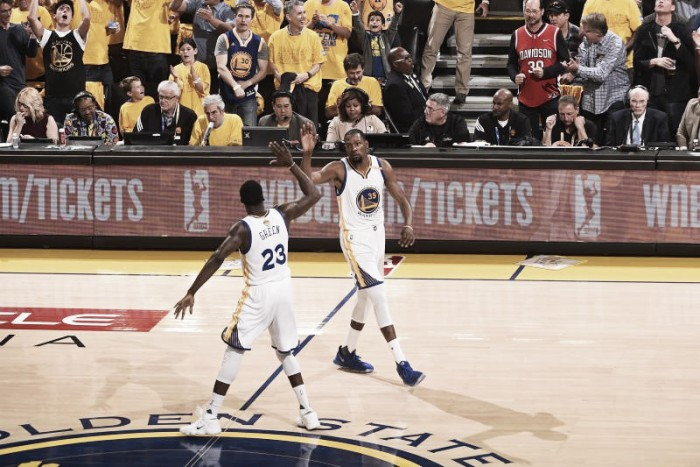 NBA Finals, Golden State Warriors campioni 2016-17, Kevin Durant MVP