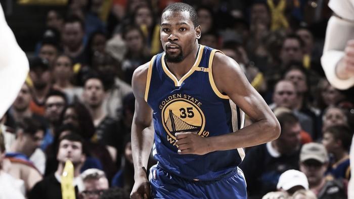Nba, Durant e i Warriors vincono a Oklahoma City (114-130)
