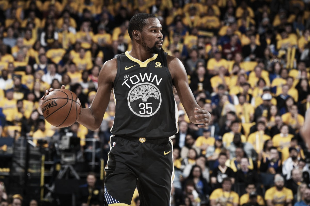 NBA playoffs, l'orgoglio Spurs non basta contro Durant e Thompson (116-101)