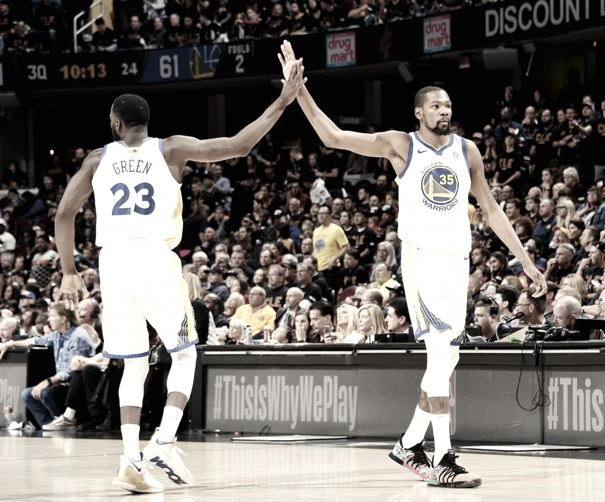 Warriors sentencian las finales