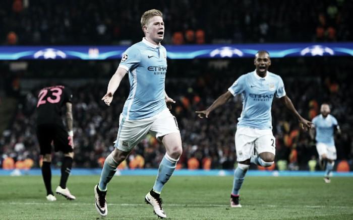 Manchester City (3) 1-0 (2) Paris Saint-Germain: Citizens qualify for last-four in nail-biting finale