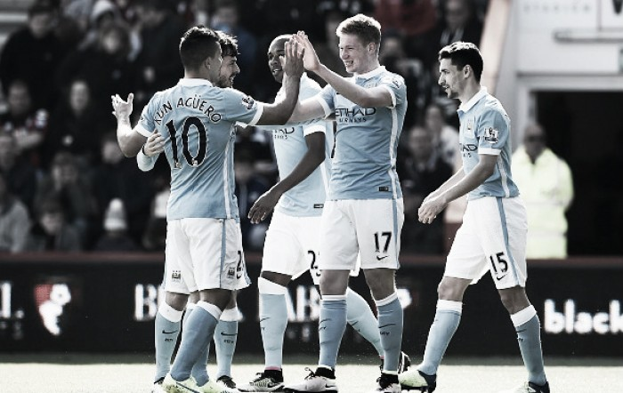 AFC Bournemouth 0-4 Manchester City: Citizens flourish with de Bruyne's excellent return