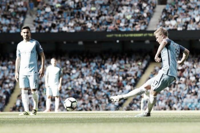Premier League, il City batte 4-0 il Bournemouth e rimane a punteggio pieno