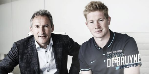 Manchester City officially complete signing of Kevin de Bruyne