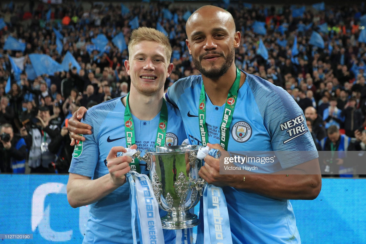 De Bruyne admits he'd like to join Kompany at Anderlecht in the future