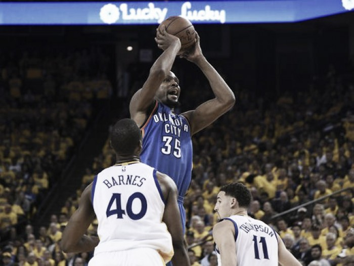 2016 NBA Western Conference Finals: Golden State Warriors looking to draw series level in Game Two
