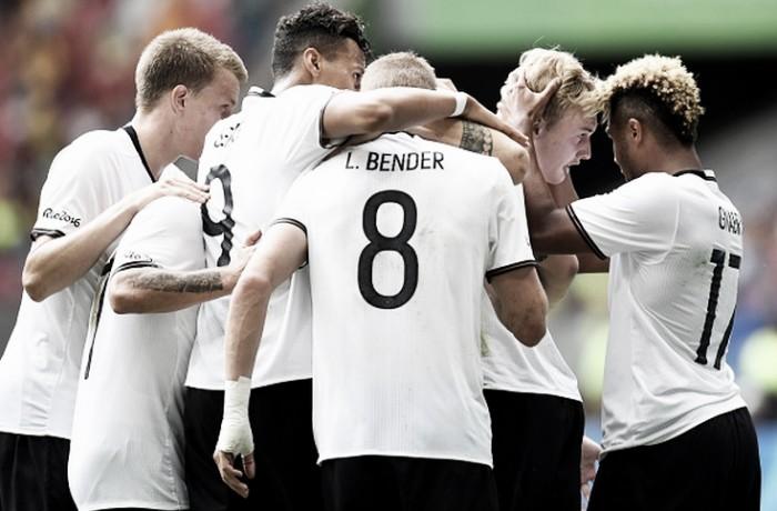 Alemanha e Nigéria se enfrentam buscando vaga na final olímpica do futebol masculino