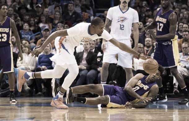 NBA - Lakers a picco, Oklahoma banchetta (118-78)