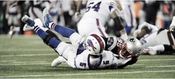 Los Patriots siguen invictos a costa de los Bills
