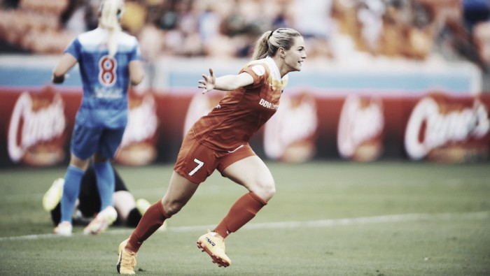 Kealia Ohai and Rachel Daly lead Houston Dash to shutout victory over Chicago Red Stars