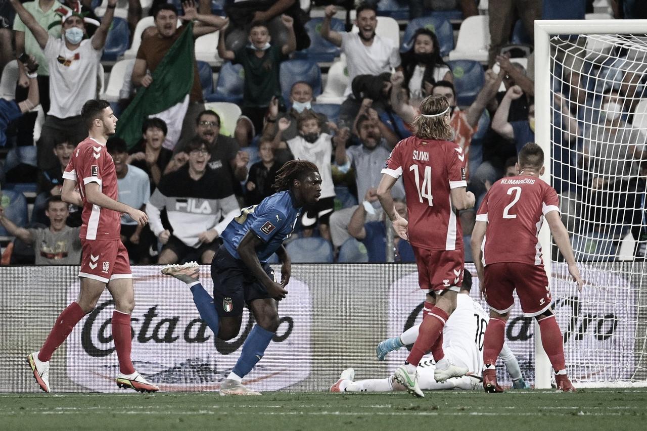 Mesmo poupando titulares, Itália atropela Lituânia nas Eliminatórias para Copa do Mundo