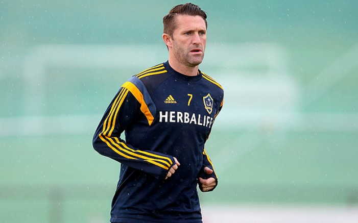 LA Galaxy's Captain Robbie Keane Will Be Sidelined For Four To Six Weeks
