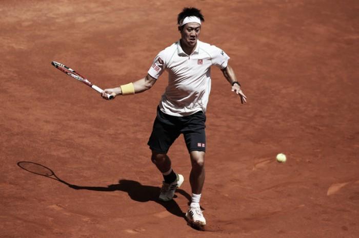 Na estreia em Madri, Kei Nishikori vence irritado Fabio Fognini
