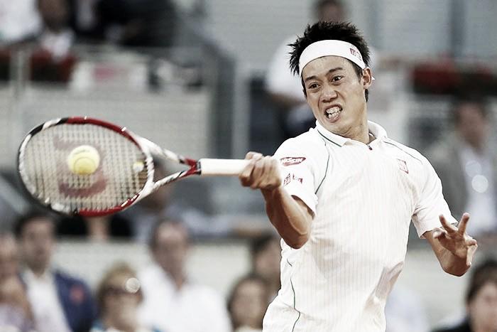 Kei Nishikori supera adversidades e vence Viktor Troicki na estreia em Roma