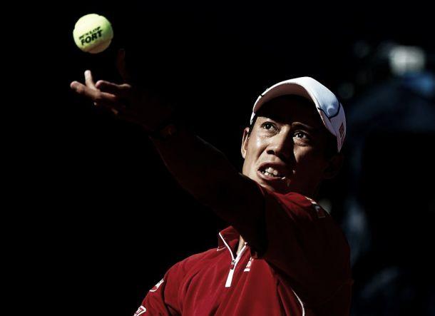 """Kei Nishikori: """"Ha sido un partido más duro de lo que parecía en el resultado"""""""
